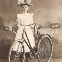"""Bicycle Face"": Running Rampant since 1895. ~ Brenna Fischer"