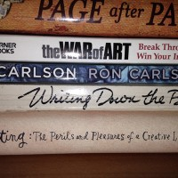 5 Books that Never Fail to Get Me to Face the Blank Page. ~ Kim Haas