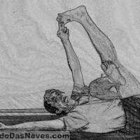 Visual Yoga Blog: The Hamstring-Upper Back Stretch