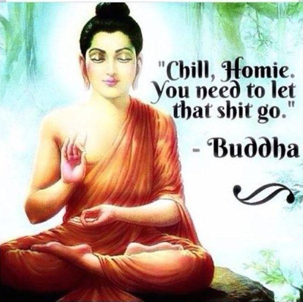 Chill Homie Buddha