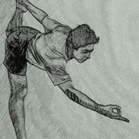 Visual Yoga Blog: King Dancer Pose on Steroids