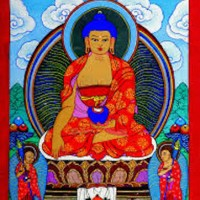 The Buddha's first Teaching after his Awakening. ~ Frank Berliner