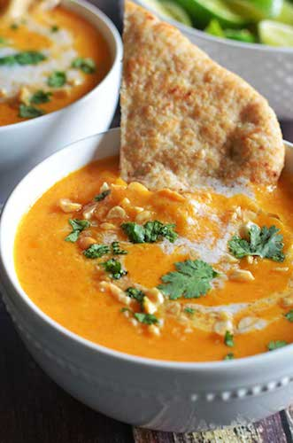 Silky, Warming Butternut Squash & Coconut Milk Bisque. {Vegan, Gluten-Free Recipe}