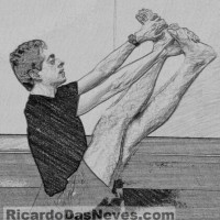 Visual Yoga Blog: 3 Steps to Longer Hamstrings & Spine with Balancing Scissor.