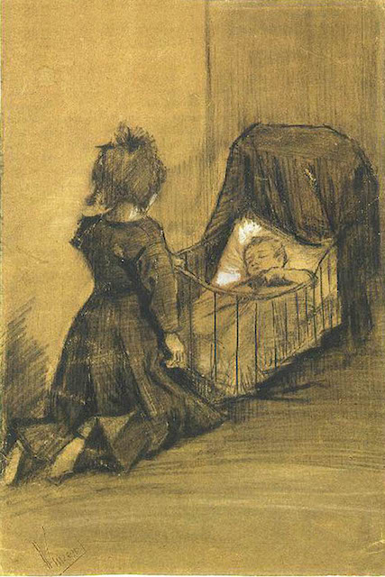 Van Gogh sister and baby