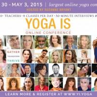 Largest Online Yoga Conference with 30 Yoga & Meditation Teachers. {Partner}