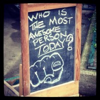 To Be (or Not to Be) Awesome: a Guide to Daily Being.