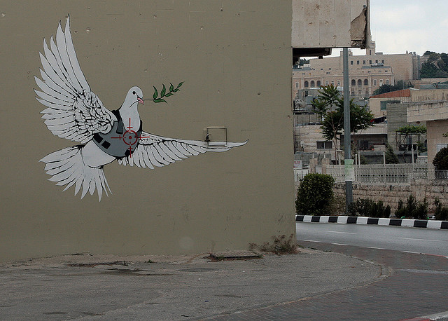 banksy bethlehem peace war
