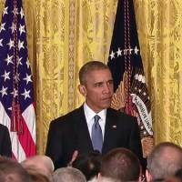 """Barack Obama: """"Shame On You,"""" When Interrupted During LGBT Speech."""