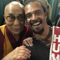"The Dalai Lama Calls Michael Franti, ""A Monk without Restriction."" {Video}"