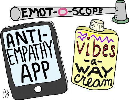 Self-Help Tips for Empaths: A Cartoon.