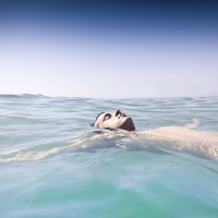 Swimming in the Deep End: The Weightlessness of Presence.