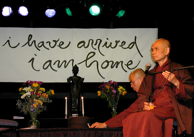 Thích Nhât Hanh's Beautiful First Words since Stroke last November.