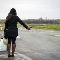 Losing Ego via Hitchhiking.