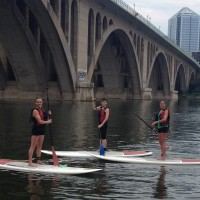 Stand Up Paddle Boarding, My Sisters & Me. ~ Anne Samit