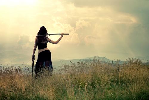 woman, warrior, strength,