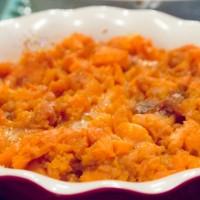 Smooth & Creamy Mashed Sweet Potatoes with Nutmeg. {Vegan, Gluten Free Recipe}