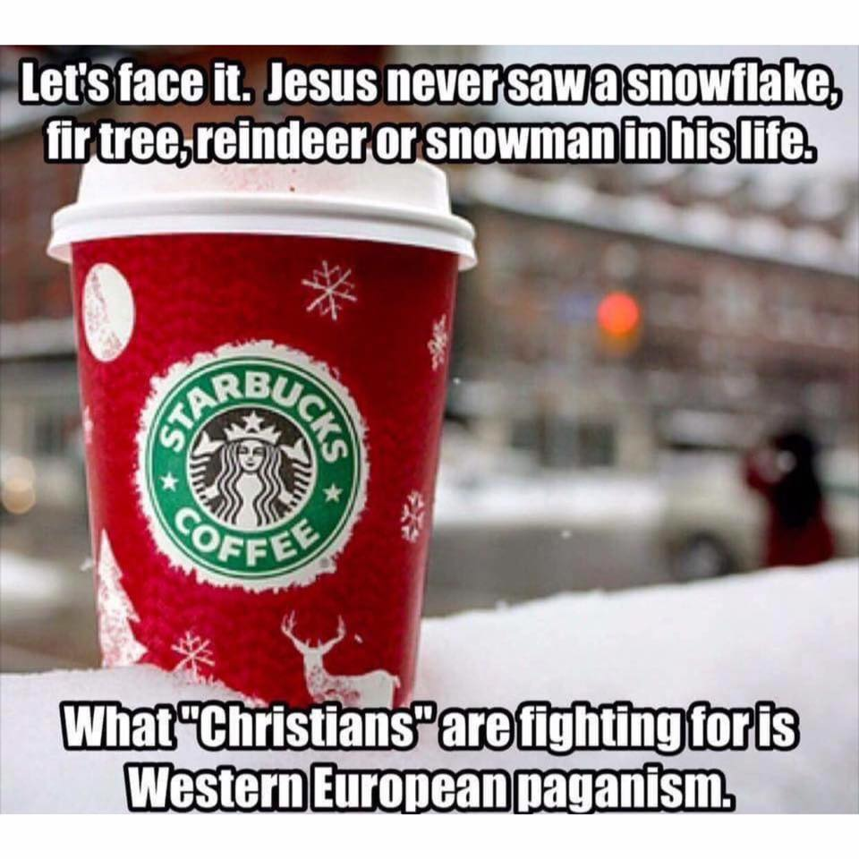 starbucks cup christmas