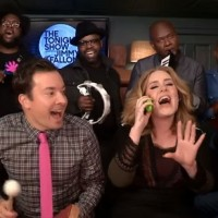 "Adele's Humorous ""Hello"" with Jimmy Fallon & The Roots."