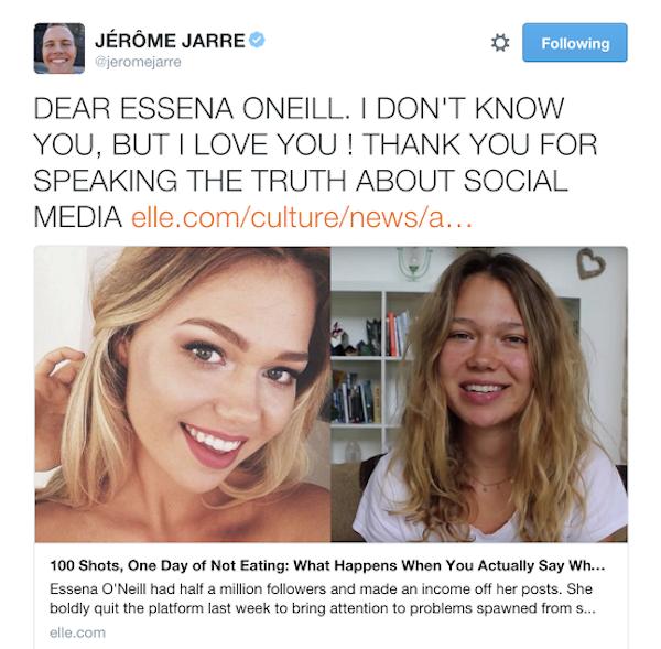 Essena O'Neill: A Call To Use Social Media Responsibly. | elephant journal