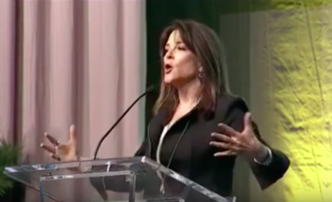 Marianne Williamson Lays Down The Truth Women Religion