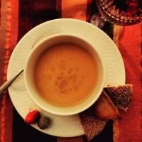 Moroccan Spice Squash Soup. {Recipe}