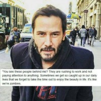 A Little Holiday Message from Keanu Reeves.