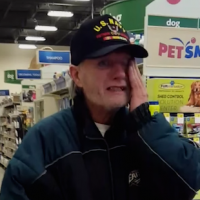 """""""Veteran receives surprise getting dogs back!"""""""