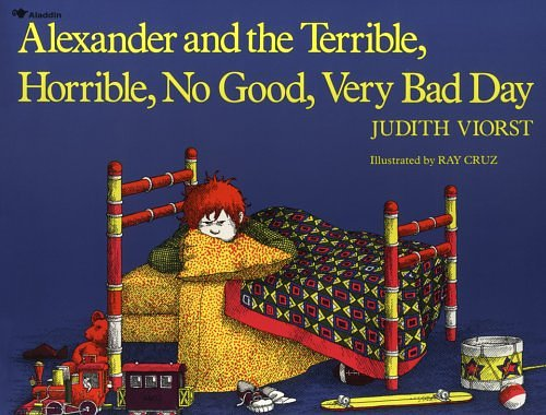 ALEXANDER_TERRIBLE_HORRIBLE book cover reading