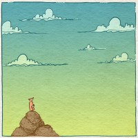 The Mindful Life Illustrated: A Lesson from Nature on Living Mindfully.