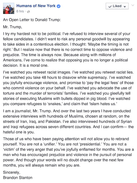 An Open Letter to Donald Trump—from the Last Person you d Expect