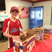 People who inspire: Meet Will Lourcey---the 13 year old who is Fighting Hunger.