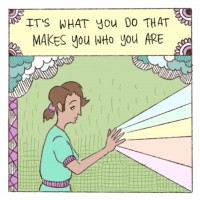 The Mindful Life Illustrated: The Most Important Part of Being Mindful that we Often Overlook.