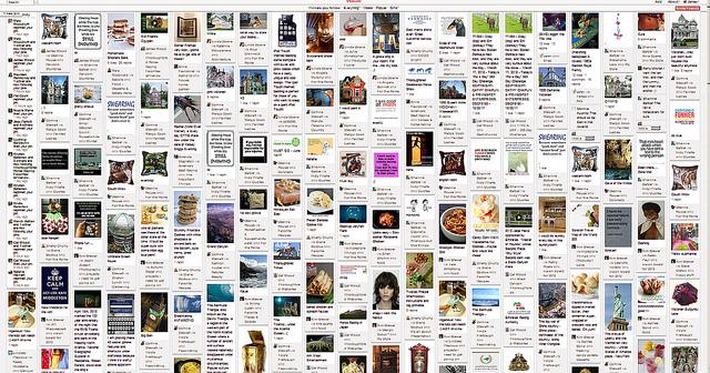 crazy pinterest board envy busy clutter social media lust