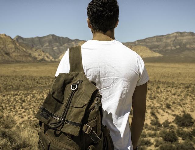 alone, man, travel