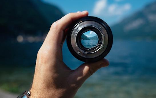 camera, lens, vision