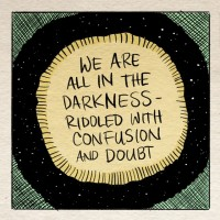 The Mindful Life Illustrated: The Only Guide we Have in the Darkness.