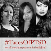 PTSD isn't a He. #FacesOfPTSD