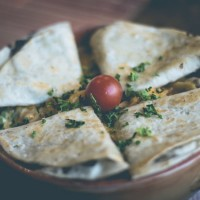 Nom Nom Roasted Veggie Quesadillas with Fennel Seed. {Vegan Recipe}