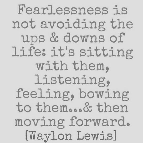 waylon quote fear