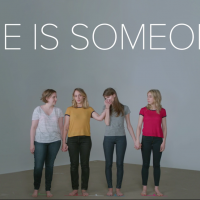 "The Cast of Girls Has a Message for Us---""She is Someone."""