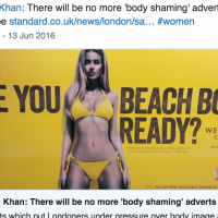 London Mayor's Radical Move to End Body Shaming Advertisements.
