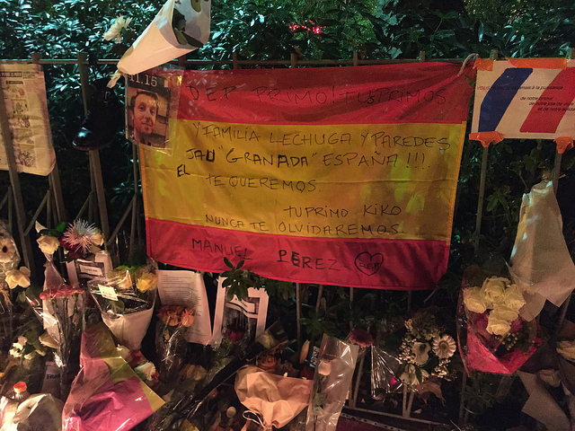 paris bataclan never forget terrorist