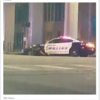 Shots Fired at #Blacklivesmatter Dallas Rally. {Video}