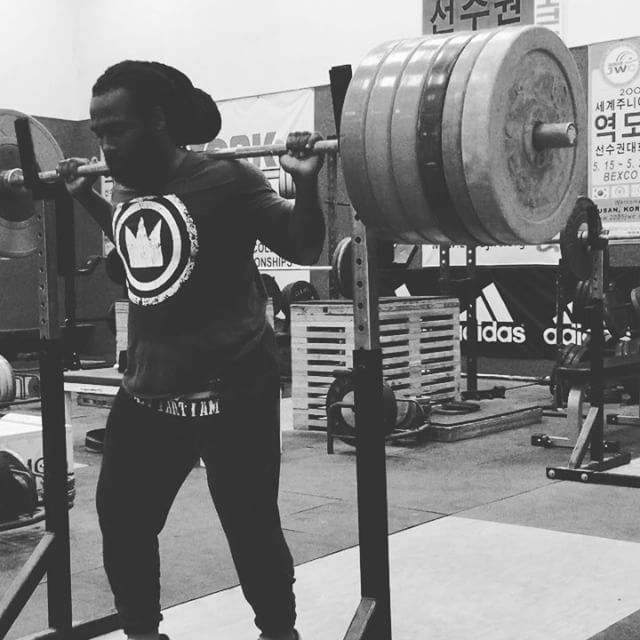 Kendrick Farris Olympic Vegan