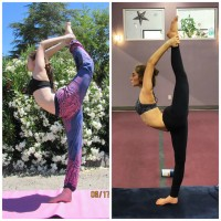 Before & After: How to do Dancer's Pose.