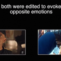 Watch what happens when the Music on these Two Viral Journalism Videos is Switched?