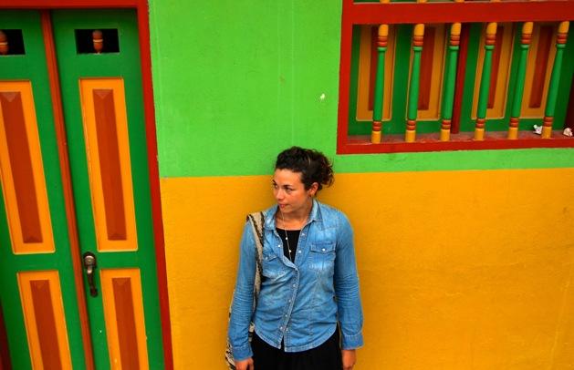 Shannon in Colourful Guatape