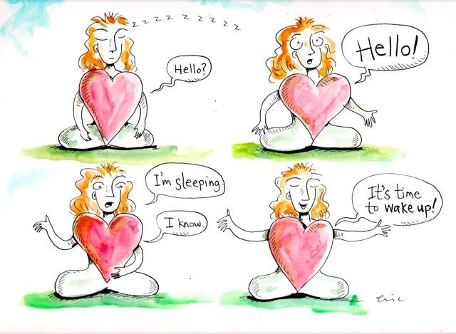 Eric Klein: original illustration by author