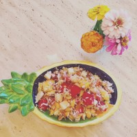 The New Ambrosia Salad. {Not your Grandmother's Recipe}